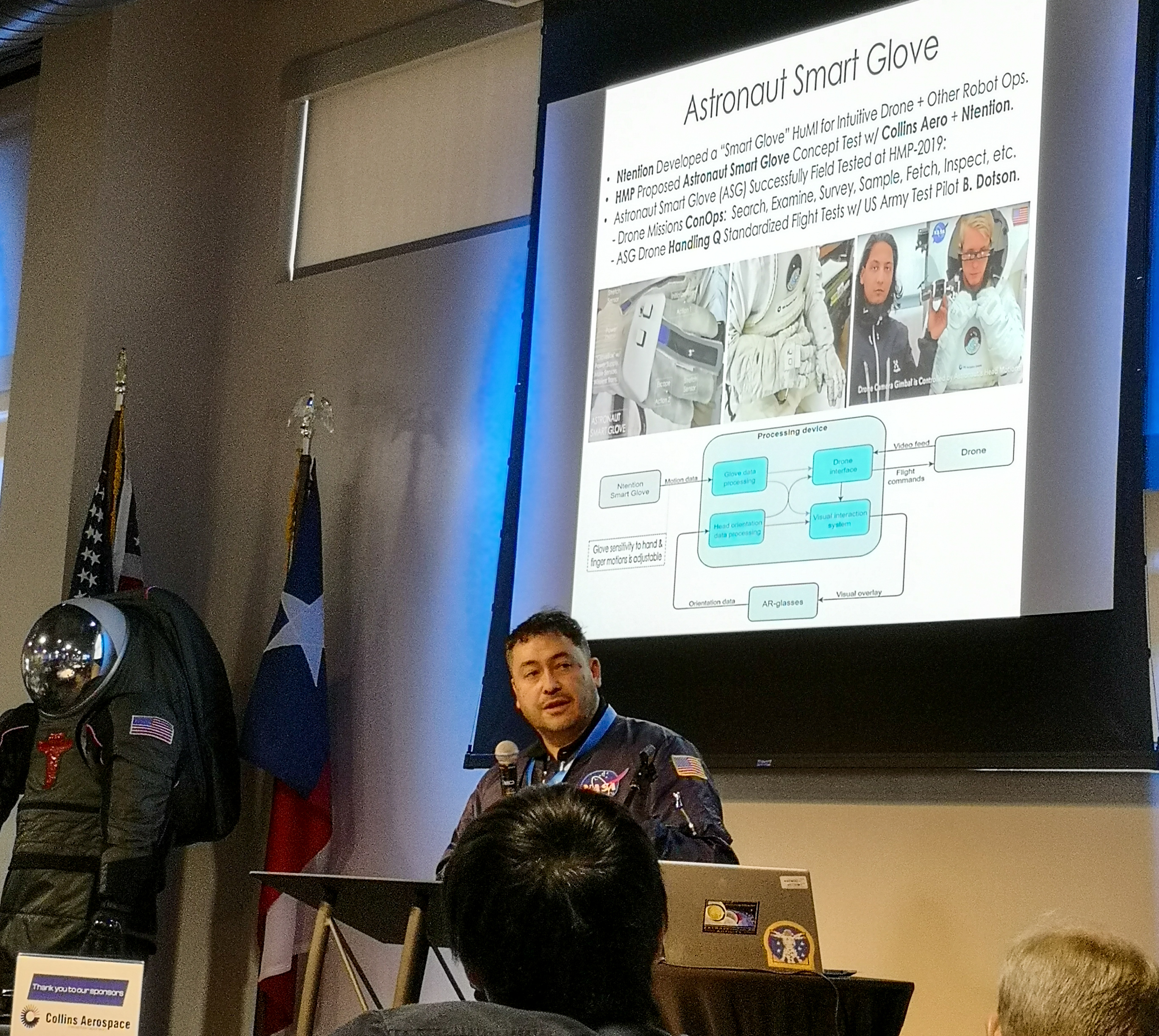 Dr. Pascal Lee presenting